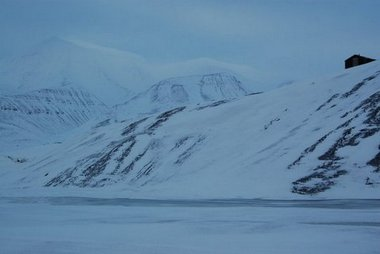 Pingo on Svalbard